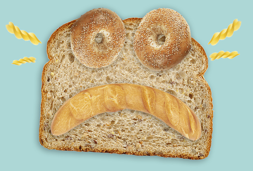 New Yorker Cartoon Unappetizing to Gluten Intolerants