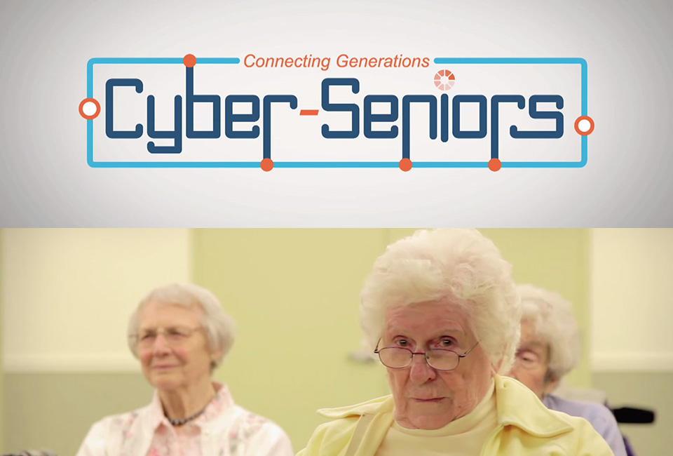 "Teens Teach ""Cyber-Seniors"" to Navigate the Internet"