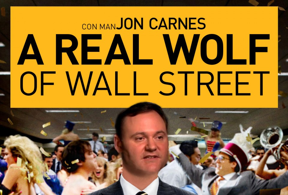 short seller criminal jon carnes