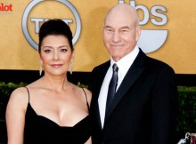 Patrick Stewart, here with Marina Sirtis in 2011, makes Michael Musto's list of rudest celebrities. Find out why below. (© Hubert Boesl/dpa/Corbis)