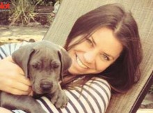 Suffering from terminal brain cancer, Brittany Maynard, here with her dog, Charlie, will die via physician-assisted death. She has become a crusader for others to have the same option. (MommyDish.net photo)